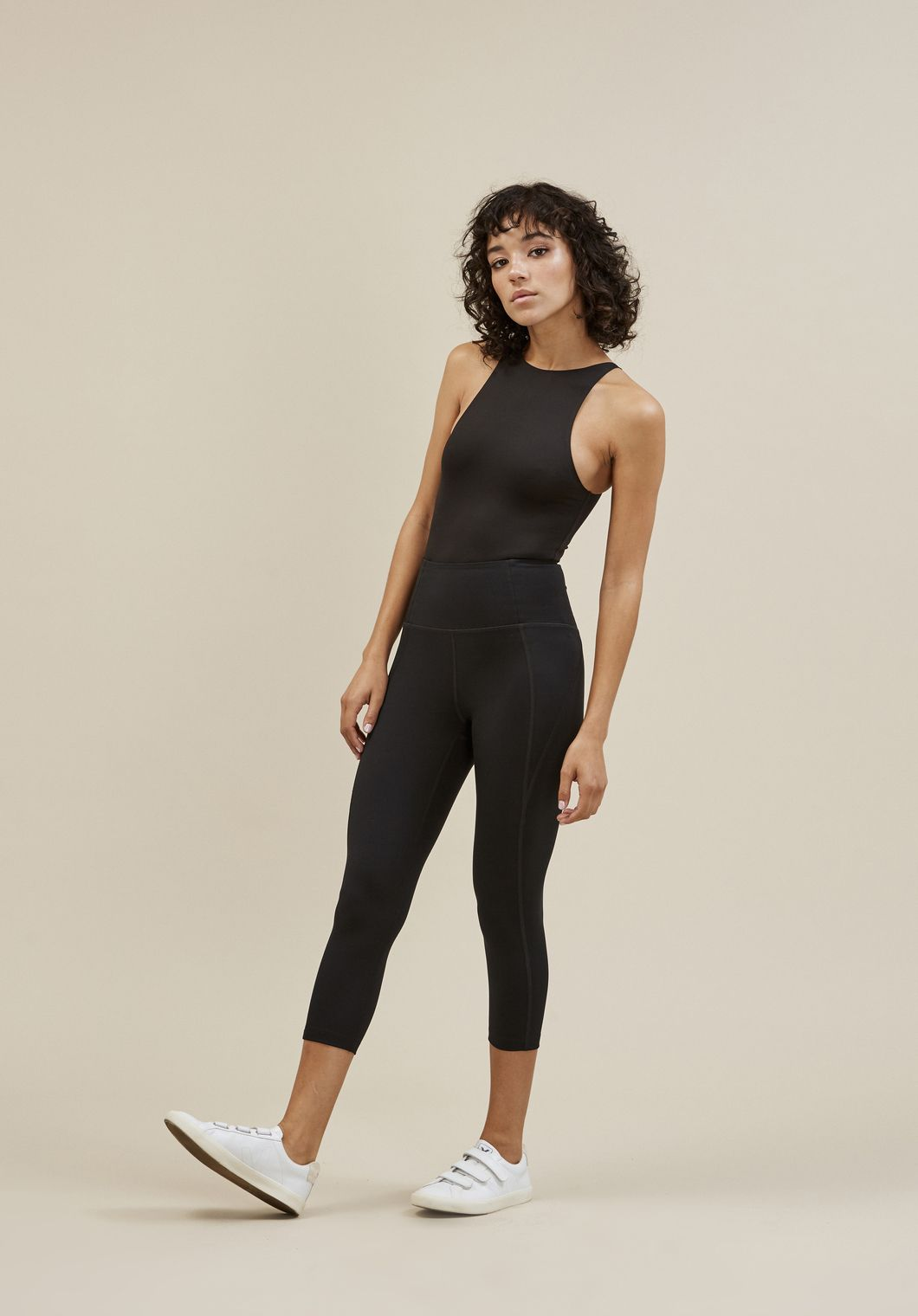 b626c9ba42 Compression leggings made from recycled water bottles, so you can do good  without even breaking a sweat.