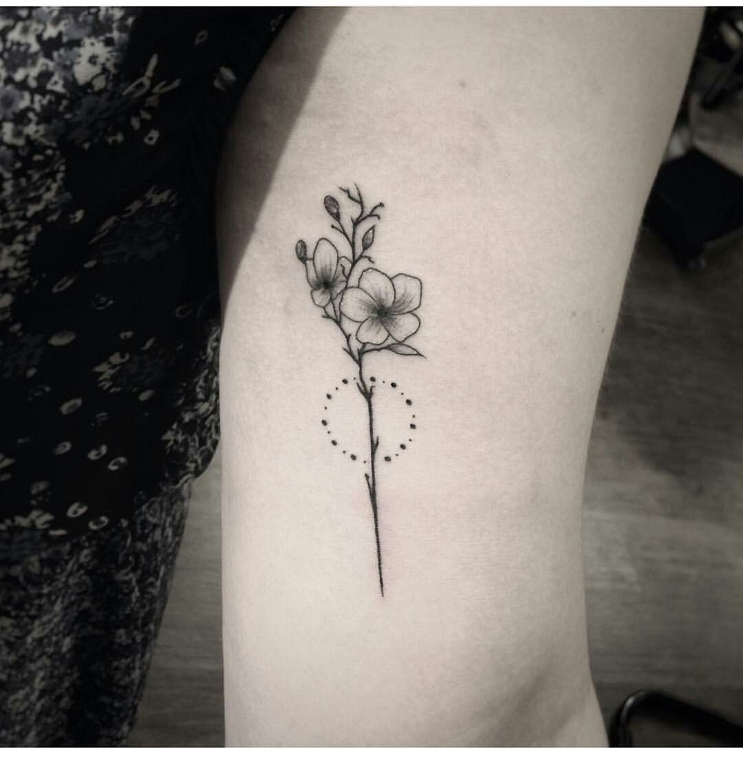 Pin by Linzy Martinez on ink is cool Tattoos, Orchid