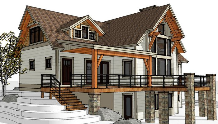 Timber Frame Designs & Floor Plans