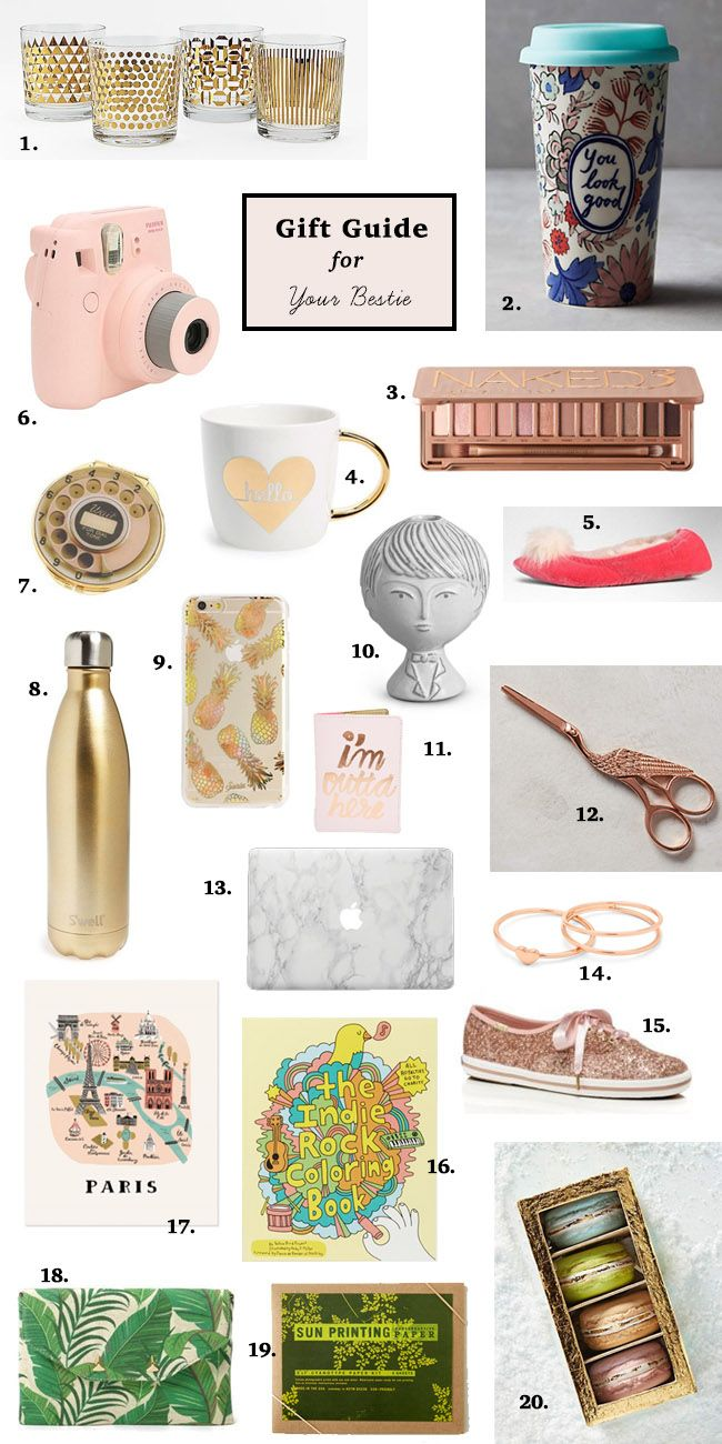 Gift Guide For Your Bestie Gift Guide Her Gifts Gift Guide