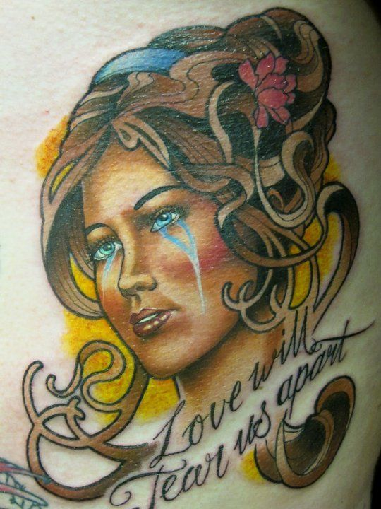 Tattoo by Sam Clark