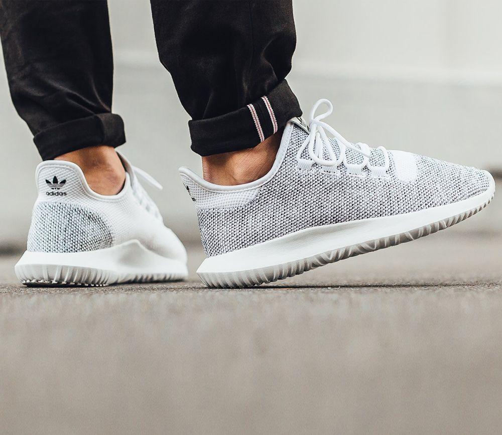 adidas Tubular Shadow Knit - Footwear White / Core Black