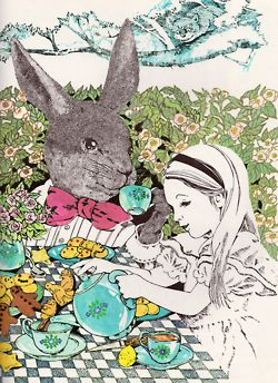 The March Hare Alice Illustration By Betty Fraser
