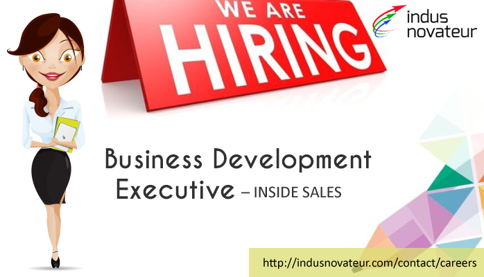 We Are Hiring Business Development Executive Inside Sales Women Qualification Any Business Development Online Business Classes Business Management Degree