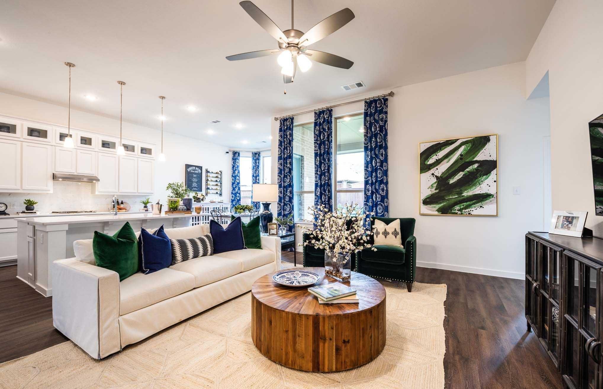 Highland Homes Amberley Plan Wylie, TX Inspiration