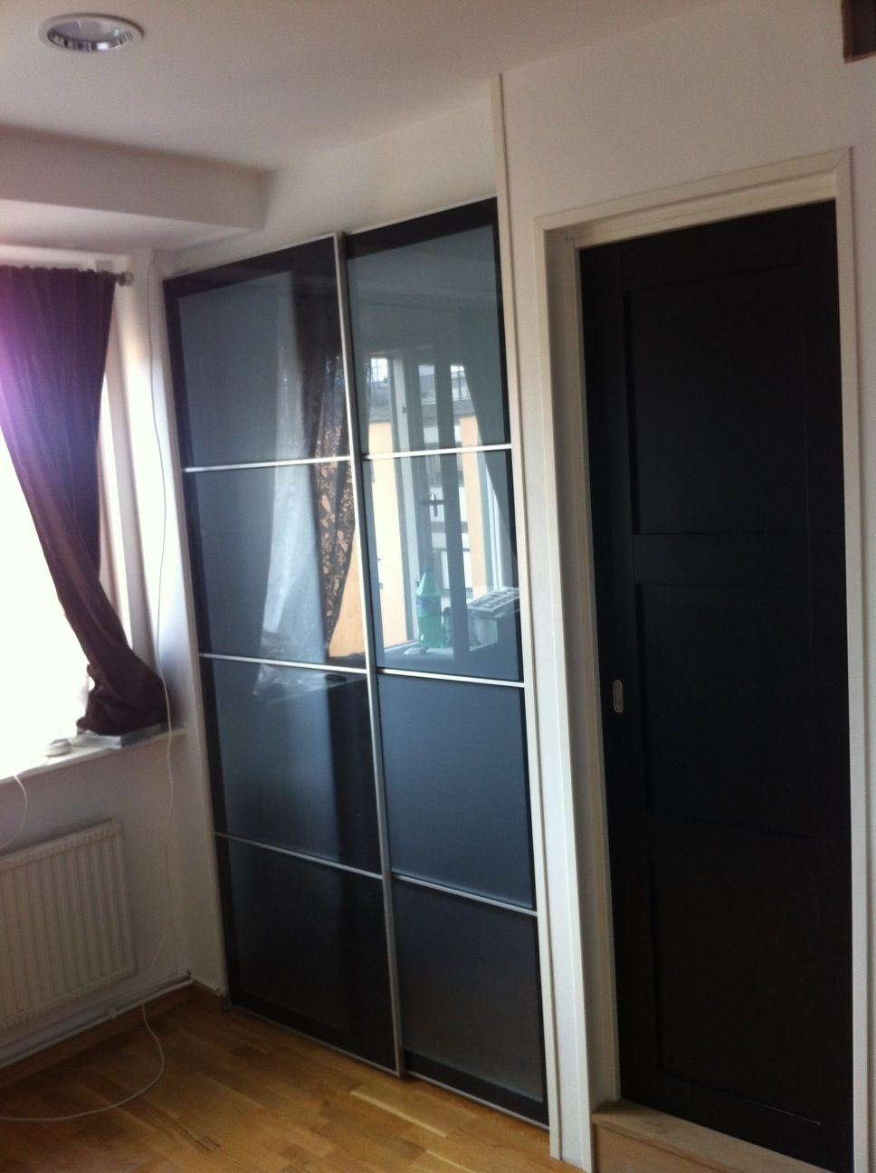 Ikea Sliding Door For Sleeping Alcove Tight Spaces Home