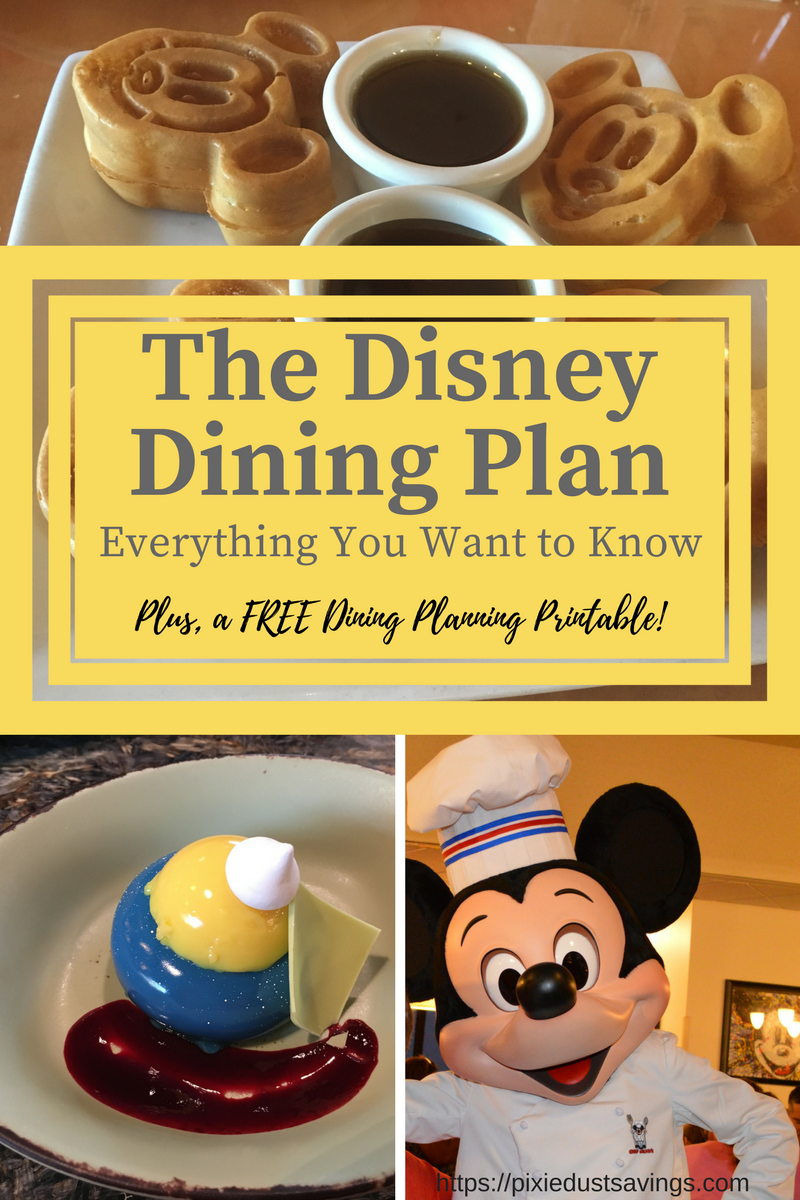 Ultimate Guide to The Disney Dining Plan 2020 Disney