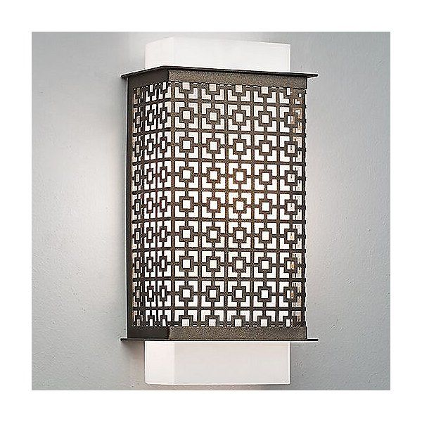 Clarus Square Wall Sconce Modern Wall Sconces Rustic