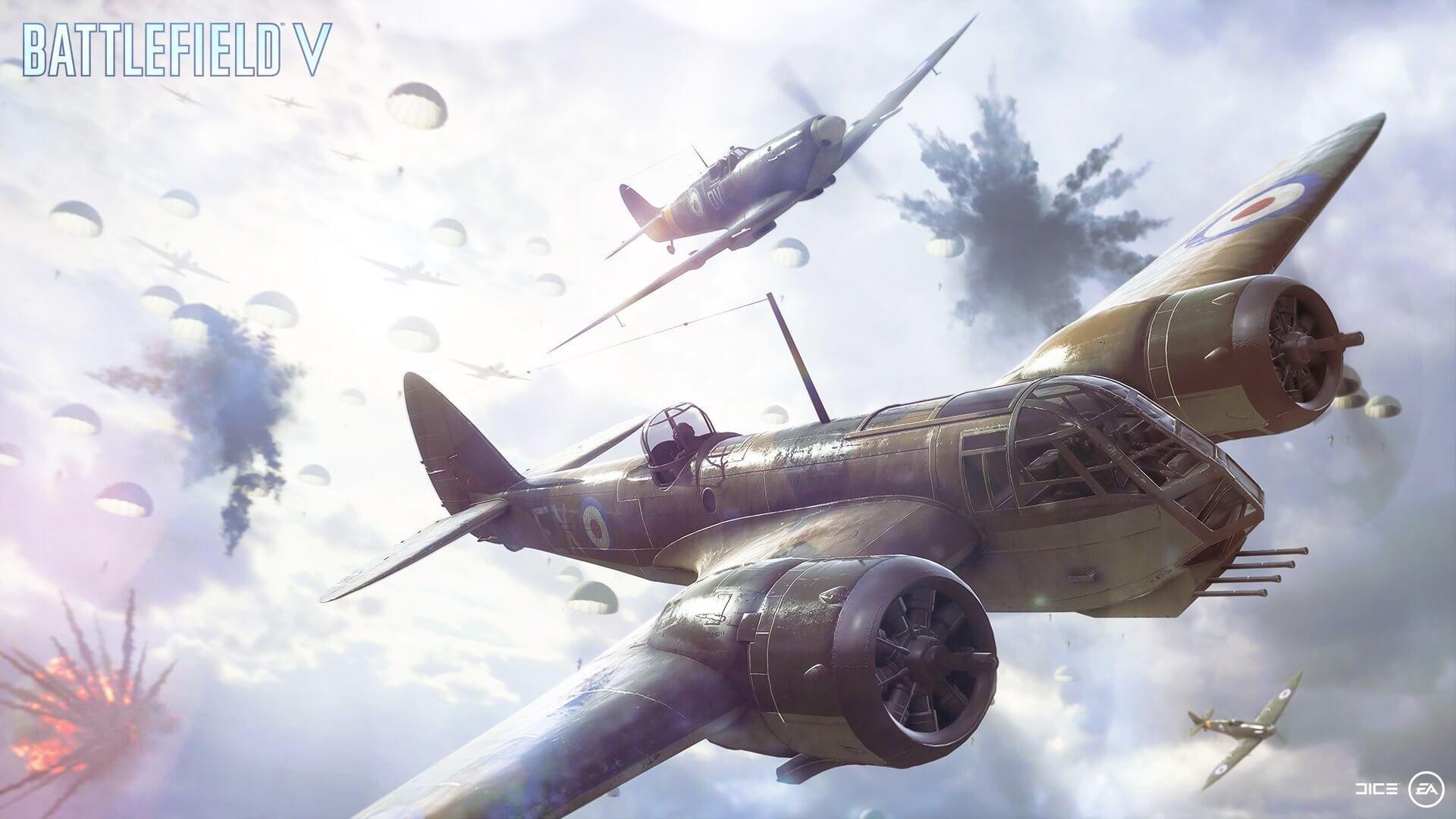"Battlefield V O modo multiplayer ""Airbone"" chega dia 19"