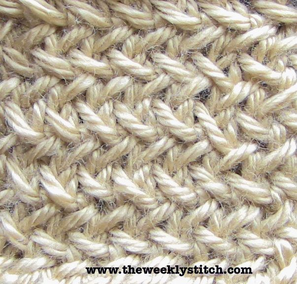 Knitting Yarn Over Before Purl Stitch : The weekly stitch little herringbone all slipped