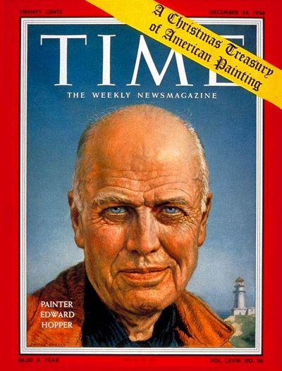 TIME Magazine Cover: Edward Hopper -- Dec. 24, 1956