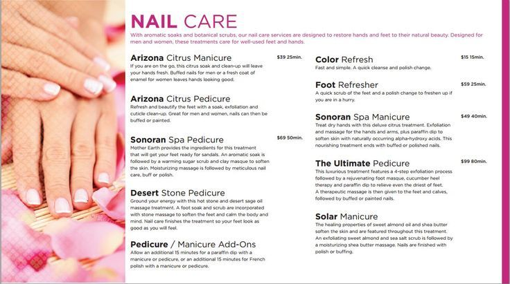 manicure and pedicure package Google Search Spa flyer