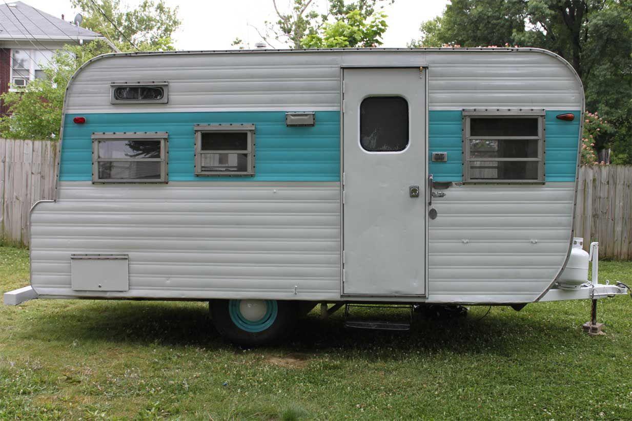 Vintage Camper Yellowstone Vintage Camper Vintage Camper