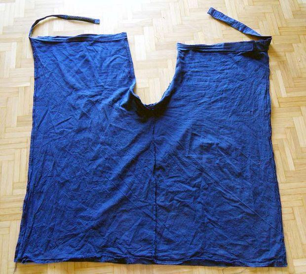 How to Sew Summer-wrap-around-pants | Stoffreste, Nähen und Oberteile