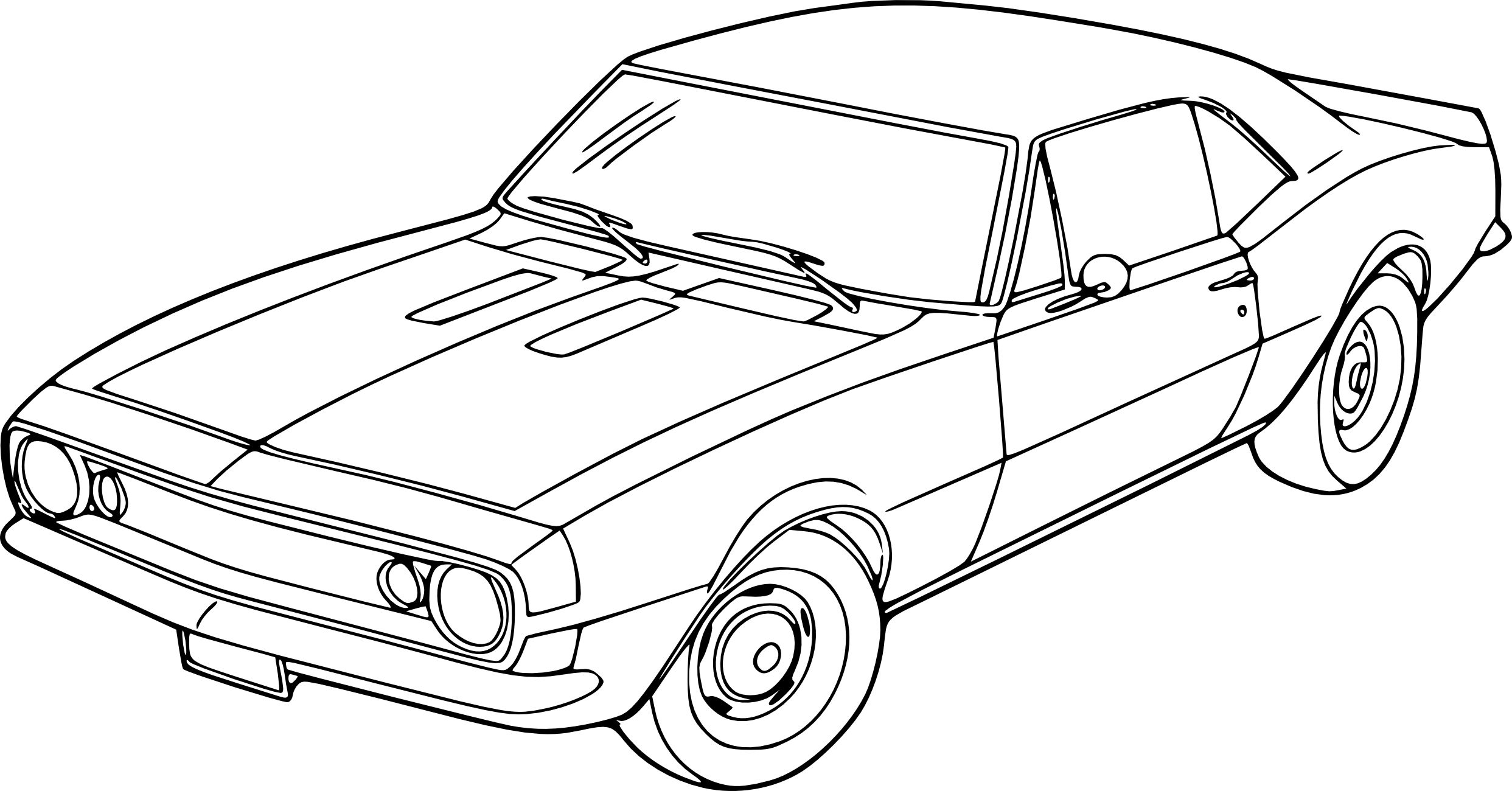 Coloriage Voiture Fast And Furious Toy Car Coloring Pages Car