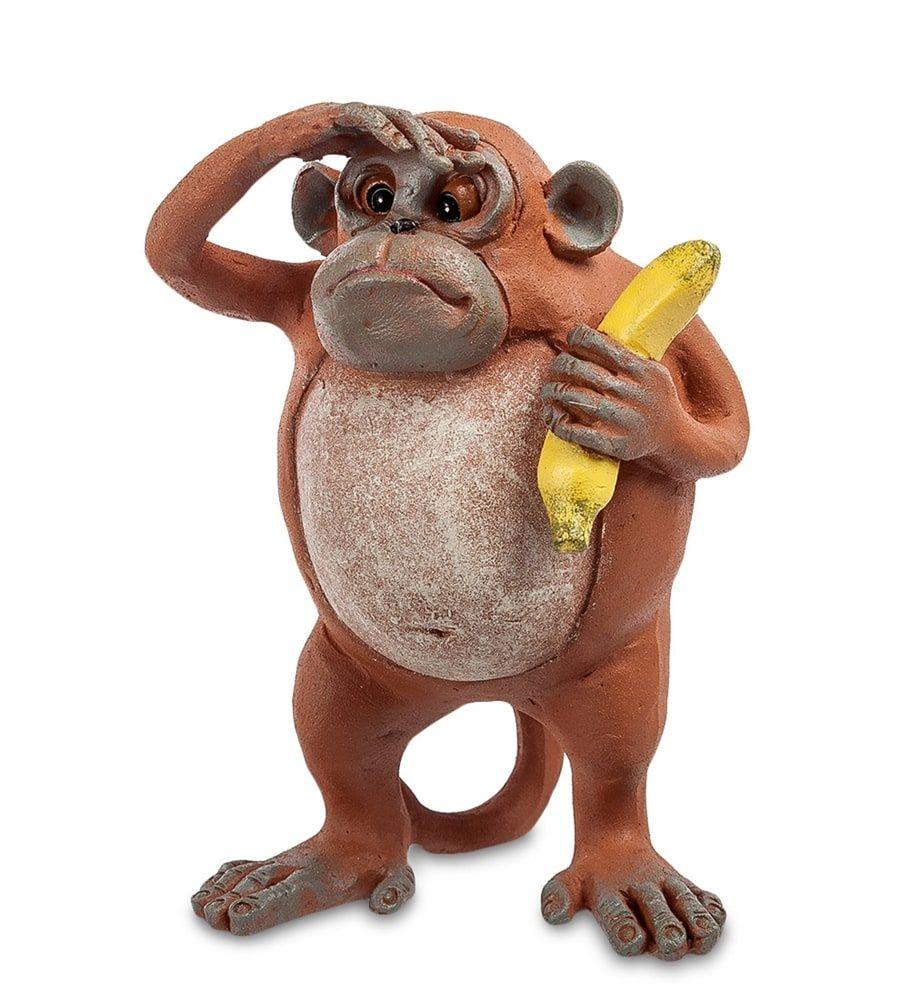 Фигурка «Обезьяна» ED-284      Страна производства: Китай;   Материал: полистоун;   Длина: 14 см;   Ширина: 10 см;   Высота: 10 см;   Вес: 0,3 кг;          #figurines #polyston #polyresin #статуэтки #фигурки #полистоун #обезьяна