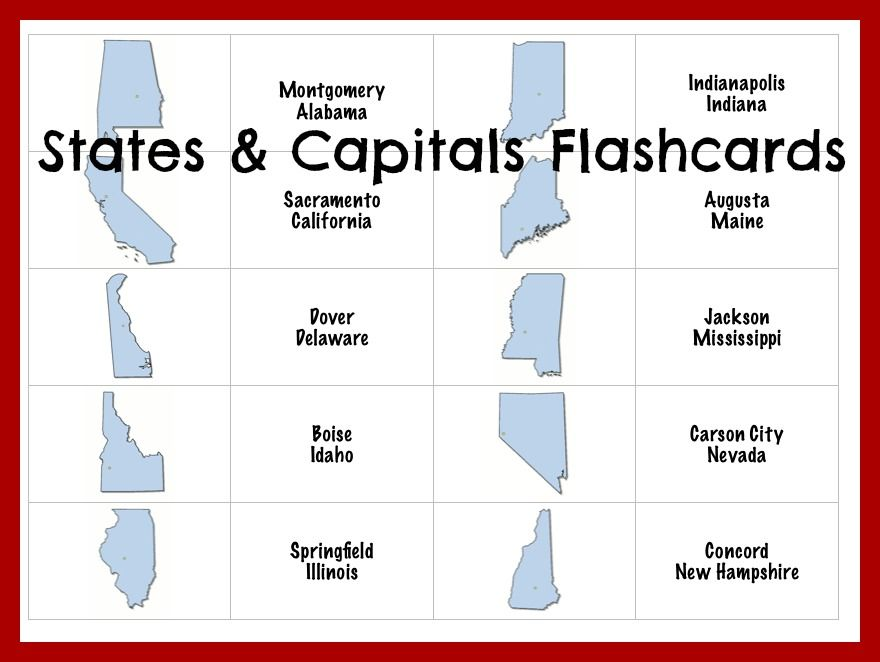 Worksheet. Best 25 States and capitals ideas on Pinterest  Homeschool