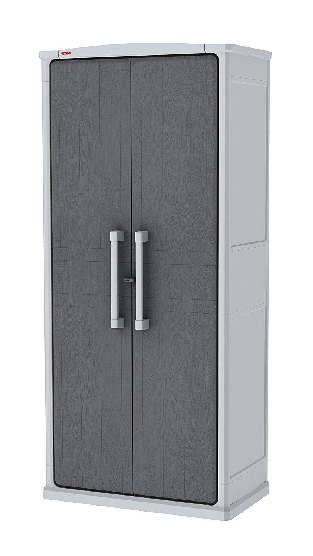 Keter - Armario de almacenamiento alto, color gris: Amazon.es ...