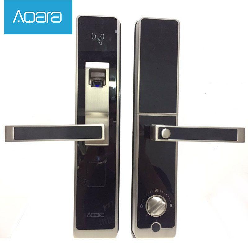 Xiaomi Mijia Aqara Smart Door Lock ,Digital Touch Screen Keyless  Fingerprint+Password Works With