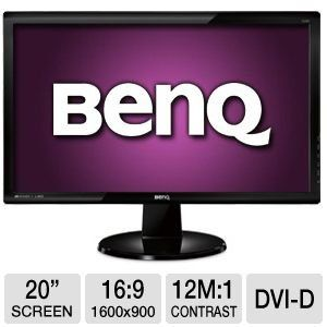 BenQ GL2055 20-Inch LED-lit Monitor for only $99.99 You save: $39.01 (28%)