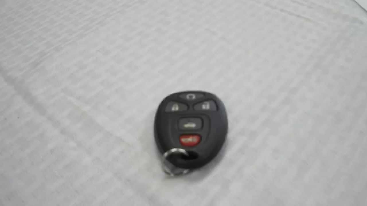 How To Replace Key Fob Battery For Chevrolet Impala 2006 2013 Chevrolet Impala Impala Key