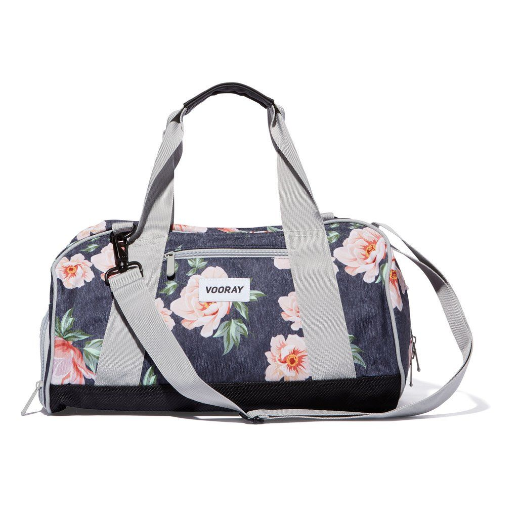 This cute floral-printed gym bag is also super-practical  Reinforced for  supreme durability and protection, it s got an extended dual-zipper track,  ... 602ec8e1e7