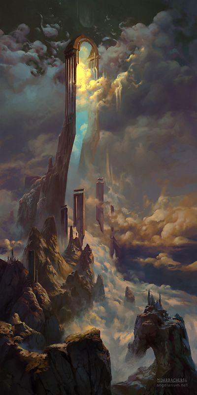 The Gate of Sahaqiel by PeteMohrbacher on DeviantArt