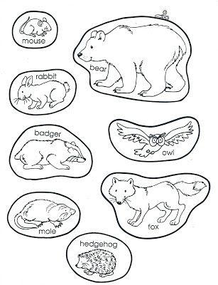 A Teacher Without A Class The Mitten The Animals Winter Kindergarten Preschool Books Mitten