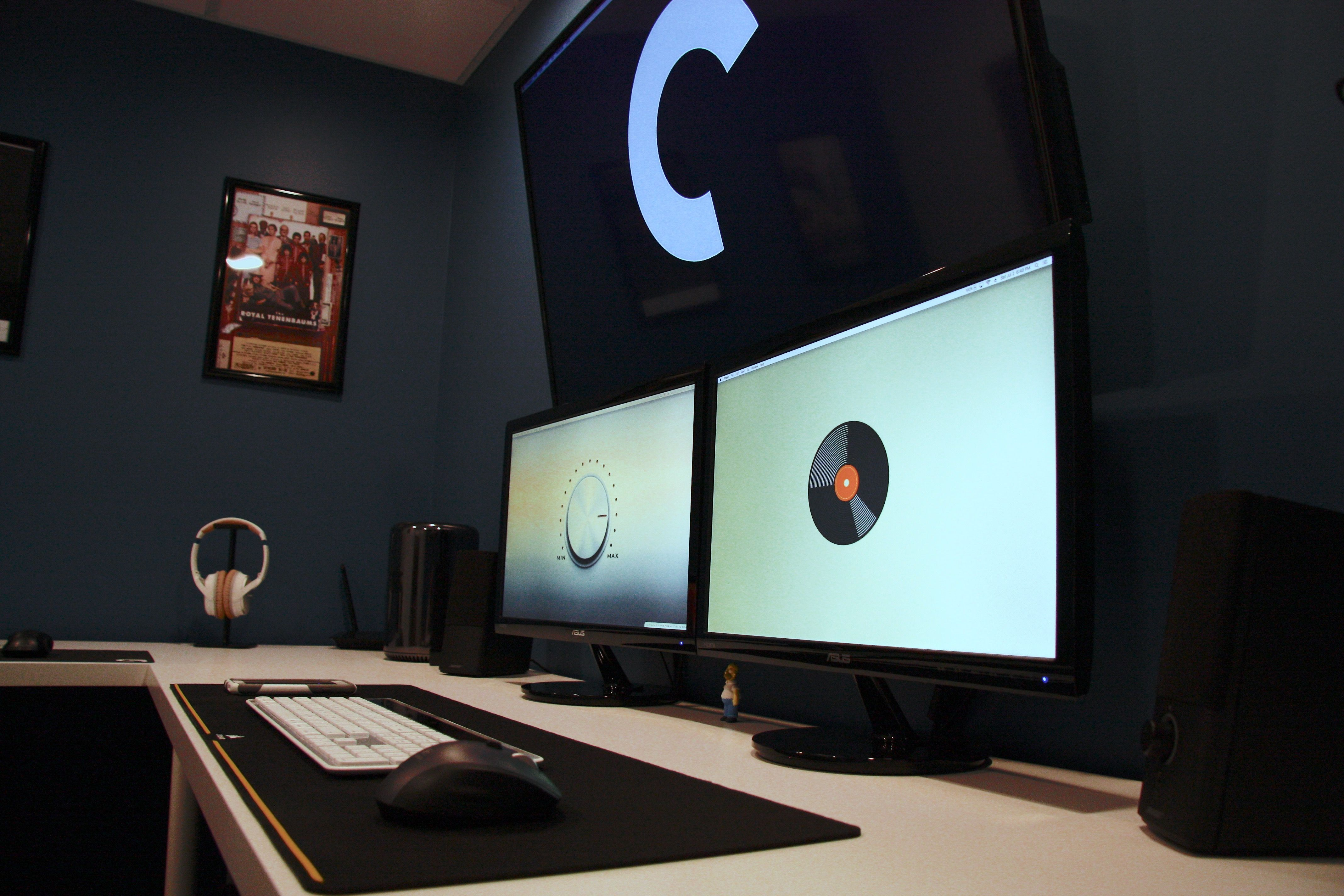 my setup in my home office #1