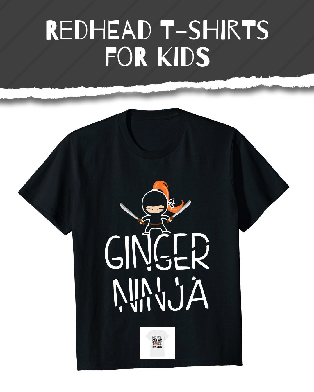 Redhead T Shirts For Kids Ginger Ninja Funny Ginger T Shirt T Shirt Shirts Mens Tops
