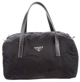 a60e7c25055 Prada Saffiano-Trimmed Tote Bag   Prada saffiano and Products