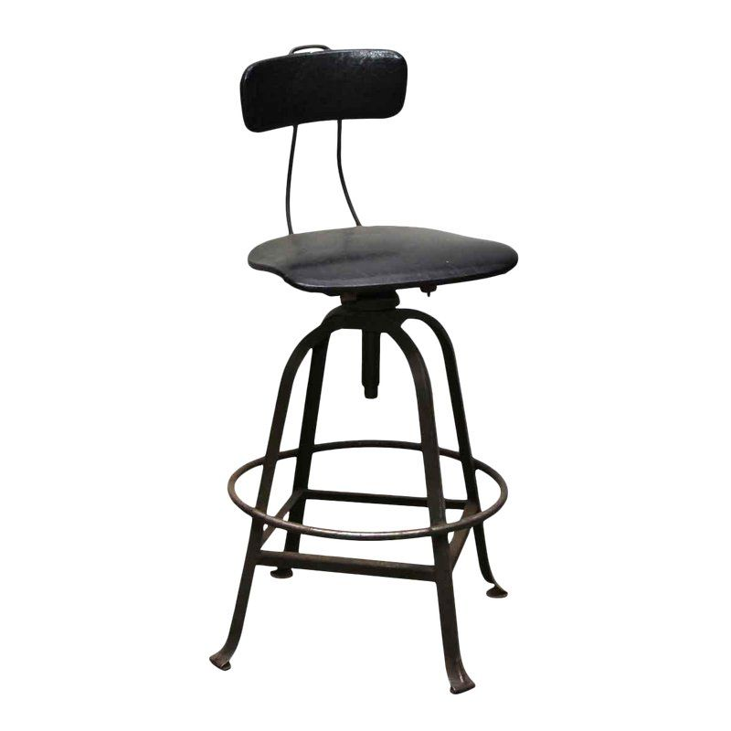 Fabulous Black Vinyl Factory Metal Stool Products In 2019 Metal Uwap Interior Chair Design Uwaporg