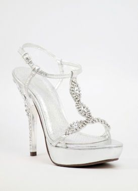 Silver Prom Heels | Tsaa Heel