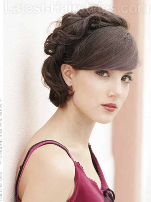 Prom Hairstyles 2020 Here Are The Best Ideas Prom Hairstyles For Short Hair Vintage Hairstyles Short Hair With Bangs