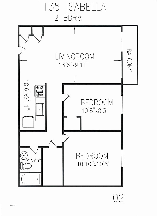 Floor Plans For 750 Sq Ft House Awesome 750 Square Feet Floor Plan Lovely 800 Square Foot House Plans Of 18 Un Small House Plans House Plans Square House Plans