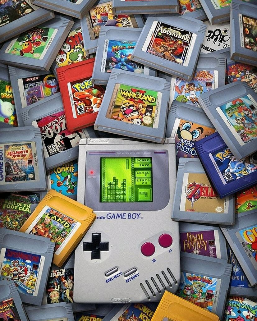 Game Boy Legacy Created By Rachidlotf An Amazing Piece Of Nostalgia Gameboy Gbc Gba Gam Game Wallpaper Iphone Retro Gaming Art Retro Games Wallpaper