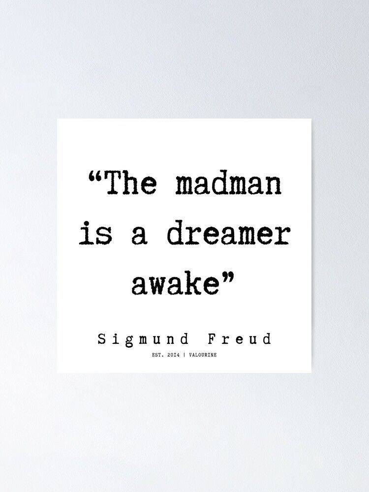 24  |   Sigmund Freud Quotes | 190926  Poster by QuotesGalore