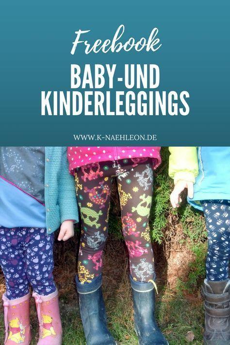 Photo of Kostenloses Schnittmuster Baby- & Kinderleggings, K-Nähleon
