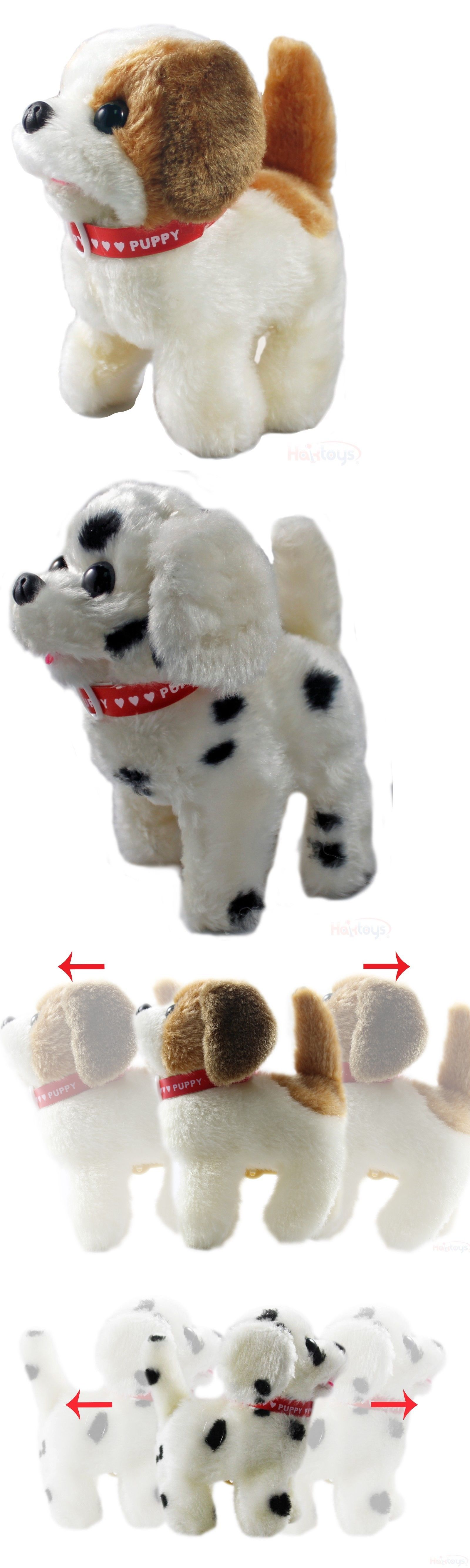 Animals 145942 Haktoys Toy Puppy Battery Operated Walking And