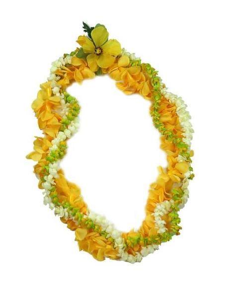 Pakalana pikake puakenikeni twirl silk flower lei these beautiful pakalana pikake puakenikeni twirl silk flower lei these beautiful flowers are grown in yards and gardens throughout hawaii to make leis and headbands for mightylinksfo