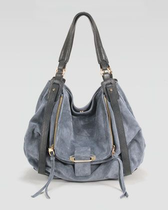 Jonnie Suede Leather Hobo Bag By Kooba At Neiman Marcus A Mix Of And Updates The Signature Style But Slouchy Silhouette Maintains