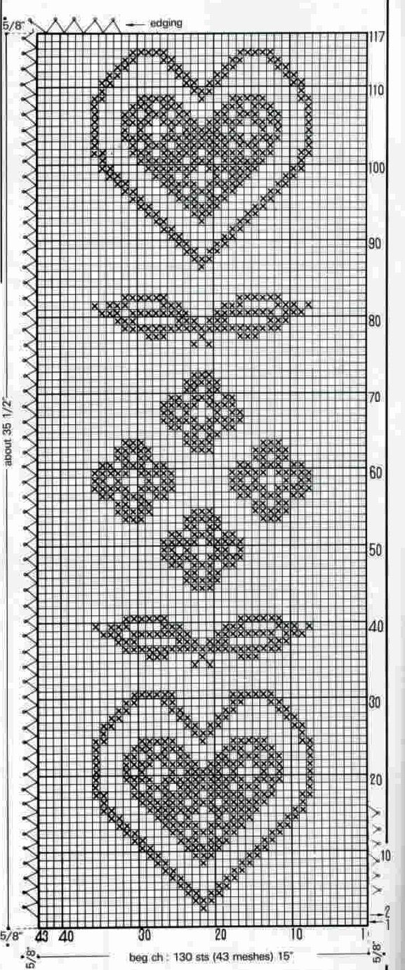 Pin von Jennifer Parker auf Crochet - Filet & Tatting | Pinterest ...