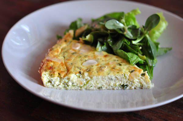 torta di zucchine (zucchinikuchen) nach la cucina verde von carlo ...
