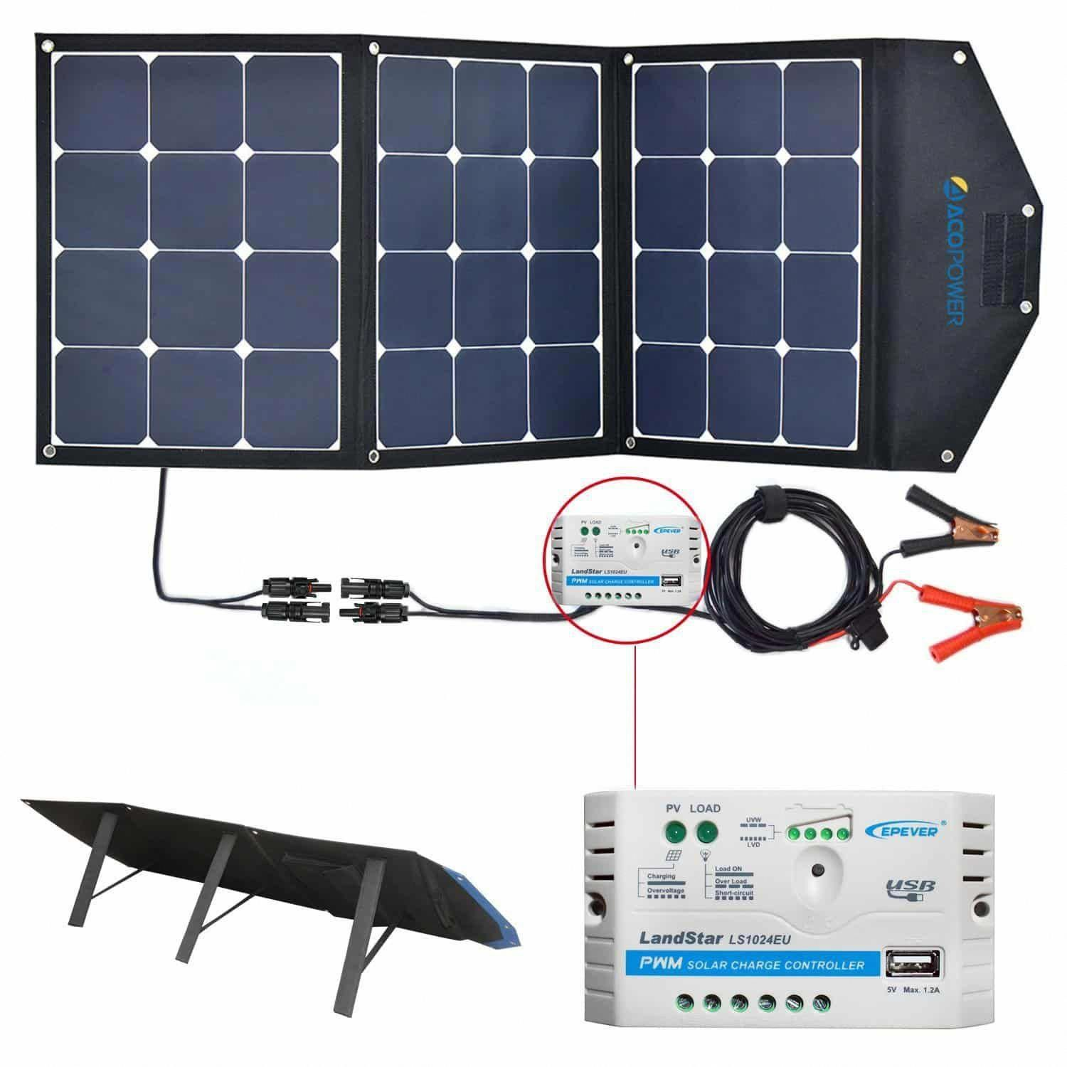 6 Acopower 12v 105w Foldable Solar Power Generator Solarpanels Solarenergy Solarpower Solargenerator Solarpa Solar Panels Solar Panel System Solar Technology