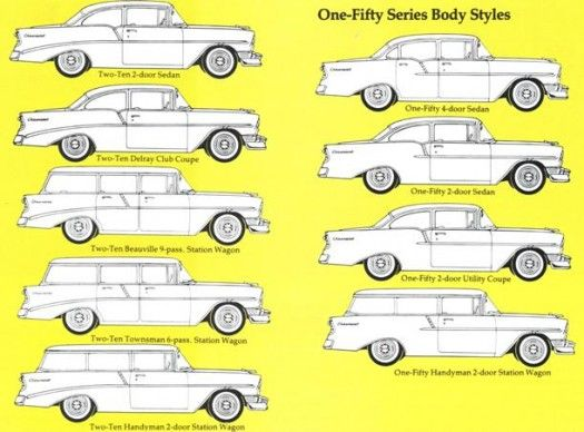 56 Chevy Models 1955 Chevrolet 1957 Chevrolet Classic Chevrolet