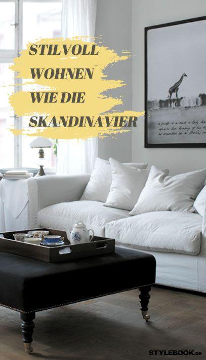 Die Skandinavier haben\'s raus mit der Gemütlichkeit in der Wohnung ...