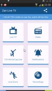 Zan Live Tv Free Android App latest apk download | Live tv