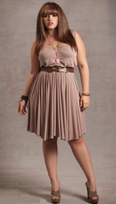 Modelos de vestidos para gorditas jovenes