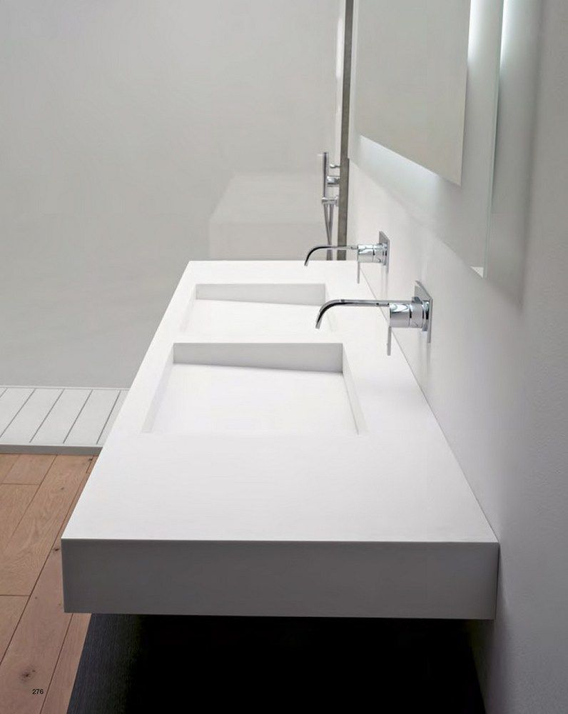 plan de toilette en corian myslot by antonio lupi design. Black Bedroom Furniture Sets. Home Design Ideas