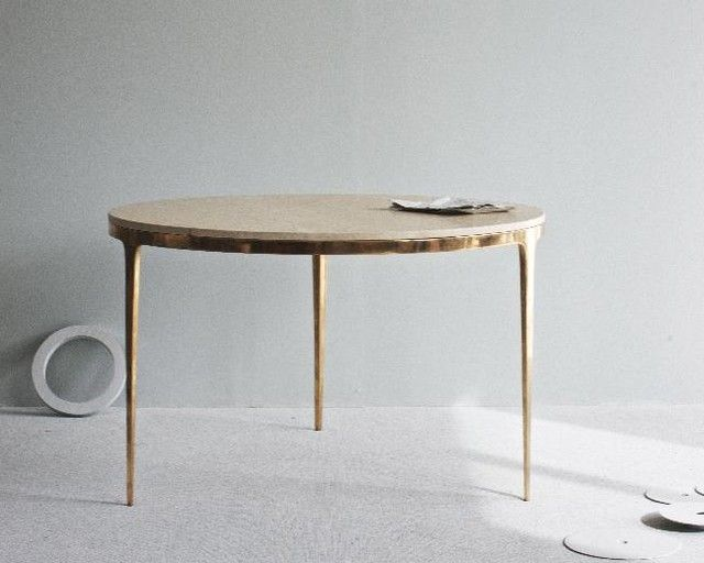 Superb Bronze Dining Table
